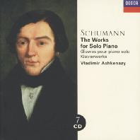 The Works For Solo Piano/ Vladimir Ashkenazy 미개봉 유럽수입 신품