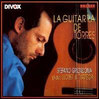 LA GUITARRA DE TORRES: LLOBET & TARREGA [스테파노 그론도나: 토레스의 기타]