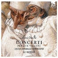 CONCERTI PER DUE VIOLONI/ GIULIANO CARMIGNOLA, AMANDINE BEYER [비발디: 2대의 바이올린 협주곡 - 카르미뇰라, 베이어]