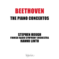 PIANO CONCERTOS/ STEPHEN HOUGH, HANNU LINTU [베토벤: 피아노 협주곡 전집 - 스티븐 허프]