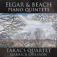 PIANO QUINTETS/ TAKACS QUARTET, GARRICK OHLSSON [엘가 & 비치: 피아노 5중주 - 타카치 사중주단, 개릭 올슨]