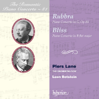 PIANO CONCERTOS/ PIERS LANE, LEON BOTSTEIN [낭만주의 피아노 협주곡 시리즈 81] [루브라 & 블리스: 피아노 협주곡 - 피어스 레인]
