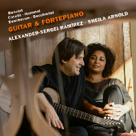 GUITAR & FORTEPIANO/ SHEILA ARNOLD, ALEXANDER-SERGEI RAMIREZ [기타와 포르테피아노 이중주 작품집 - 라미레즈, 아르놀드]