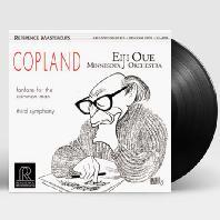 FANFARE FOR THE COMMON MAN, THIRD SYMPHONY/ EIJI OUE [33RPM 200G LP] [코플랜드: 관현악 모음집]