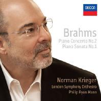 PIANO CONCERTO NO.2 & SONATA NO.1/ NORMAN KRIEGER, PHILIP RYAN MANN [브람스: 피아노 협주곡2번 & 소나타1번 - 노먼 크리거]