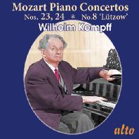 PIANO CONCERTOS NOS.23, 24 & NO.8 'LUTZOW'/ WILHELM KEMPFF, FERDINAND LEITNER [모차르트: 피아노 협주곡 <뤼트초브> - 빌헬름 켐프]