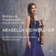 VIOLIN CONCERTOS/ ARABELLA STEINBACHER, VLADIMIR JUROWSKI [SACD HYBRID] [브리튼 & 힌데미트: 바이올린 협주곡]