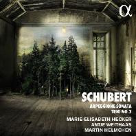 ARPEGGIONE SONATA & TRIO NO.2/ MARTIN HELMCHEN, MARIE-ELISABETH HECKER, ANTJE WEITHAAS [슈베르트: 아르페지오네 소나타, 피아노 트리오 2번]