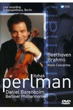 BEETHOVEN, BRAHMS VIOLIN CONCERTOS/ <!HS>DANIEL<!HE> BARENBOIM [이차크 펄만: 베토벤 & 브람스 바이올린 협주곡]