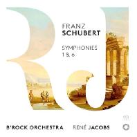 SYMPHONIES NOS.1 & 6/ RENE JACOBS [SACD HYBRID] [슈베르트: 교향곡 1, 6번 - 르네 야콥스]