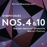SYMPHONIES NOS.4 & 10/ MIKHAIL PLETNEV [SACD HYBRID] [쇼스타코비치: 교향곡 4, 10번 - 미하일 플레트네프]