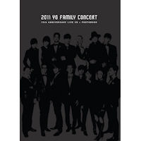 2011 YG FAMILY CONCERT LIVE: 15TH ANNIVERSARY [2CD+PHOTO BOOK]