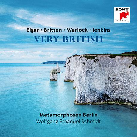 VERY BRITISH/ WOLFGANG EMANUEL SCHMIDT, METAMORPHOSEN BERLIN [베리 브리티시: 영국 유명 작곡가 작품집 - 엠마뉴엘 슈미츠, 메타모르포젠 베를린]