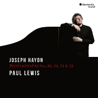 PIANO SONATAS NOS.20, 34, 51 & 52/ PAUL LEWIS [하이든: 피아노 소나타 2집 - 폴 루이스]