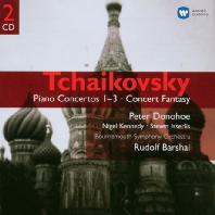 PIANO CONCERTOS NOS.1-3 ETC/ <!HS>PETER<!HE> DONOHOE, NIGEL KENNEDY, STEVEN ISSERLIS, RUDOLF BARSHI [차이코프스키: 피아노 협주곡집]