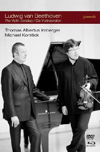 THE VIOLIN SONATAS/ THOMAS ALBERTUS IRNBERGER, MICHAEL KORSTICK [DVD+BD] [베토벤: 바이올린 소나타 전집 1-10번]