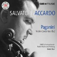 VIOLIN CONCERTOS 1 & 2/ SALVATORE ACCARDO, ERNEST BOUR [파가니니: 바이올린 협주곡 - 아카르도 & 부어]
