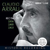RECITALS 1954, 1960, 1963 [클라우디오 아라우: 피아노 리사이틀]