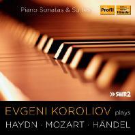 PLAYS HAYDN, MOZART, HANDEL: PIANO SONATAS & SUITES [하이든, 모차르트, 헨델: 피아노 소나타 & 건반 모음곡 - 에프게니 코롤리오프]