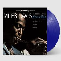 MILES DAVIS - KIND OF BLUE [LIMITED] [BLUE LP]