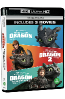 드래곤 길들이기 트릴로지 4K UHD [HOW TO TRAIN YOUR DRAGON 3 MOVIE COLLECTION]