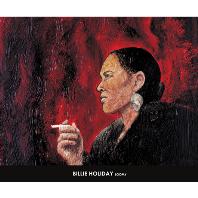 빌리 홀리데이(담배) & 루미 [60*50] [포스터+지관통]