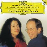 VIOLIN SONATAS NOS.9 & 10/ GIDON KREMER, MARTHA ARGERICH [베토벤: 바이올린 소나타 - 크레머 & 아르헤리치]