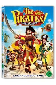 허당 해적단 [THE PIRATES! BAND OF MISFITS] [14년 5월 소니&유니버설 아동타이틀 프로모션] DVD