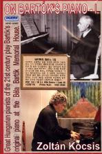 바르톡의 피아노 1집/ 졸탄 코치슈 [ON <!HS>BARTOK<!HE>`S PIANO VOL.1/ ZOLTAN KOCSIS]