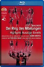 DER RING DES NIBELUNGEN/ <!HS>ZUBIN<!HE> MEHTA [바그너: 니벨룽의 반지 하이라이트]