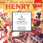 WILLIAM WALTON - SCENES FROM HENRY V ETC/ OLIVIER/ WALTON