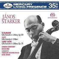 JANOS STARKER - CELLO CONCERTOS [SACD] [야노스 슈타커: 첼로 협주곡 - 슈만  랄로  생상스][EU수입]*