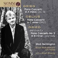 PIANO CONCERTOS/ MARK BEBBINGTON, JAN LATHAM-KOENIG [그리그 & 딜리어스: 피아노 협주곡 - 마크 베빙턴]