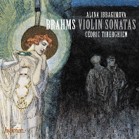 VIOLIN SONATAS/ ALINA IBRAGIMOVA, CEDRIC TIBERGHIEN [브람스: 바이올린 소나타 1, 2, 3번 & 클라라 슈만: 안단테 몰토 - 이브라기모바, 티베르기엥]