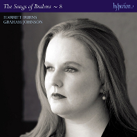 THE SONGS OF BRAHMS 8/ HARRIET BURNS, GRAHAM JOHNSON [브람스: 가곡 전곡 8집 - 해리어트 번즈]