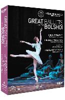 GREAT BALLETS FROM THE BOLSHOI [위대한 볼쇼이 발레단: 호두까기 인형, 잠자는 숲속의 미녀, 지젤, 파리의 불꽃]
