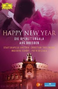 HAPPY NEW YEAR: DIE OPERETTENGALA AUS DRESDEN/ CHRISTIAN THIELEMANN [2012년 드레스덴 재야음악회 실황]