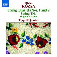 STRING QUARTETS NOS.1 AND 2/ TIPPETT QUARTET