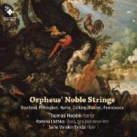 ORPHEUS NOBLE STRINGS/ THOMAS HOBBS, ROMINA LISCHKA, SOFIE VANDEN EYNDE [영국 르네상스 가곡집]