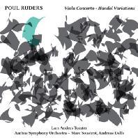 VIOLA CONCERTO & HANDEL VARIATIONS/ LARS ANDERS TOMTER [루데르스: 비올라 협주곡, 헨델 변주곡 - 라르스 톰테르]