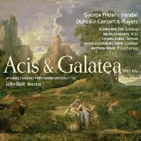 ACIS & GALATEA/ JOHN BUTT [헨델: 아시스와 갈라테아 (오리지널 캐논 연주 버전 1718)]