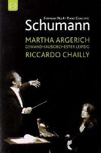 PIANO CONCERTO & SYMPHONY NO. 4/ <!HS>MARTHA<!HE> ARGERICH, RICCARDO CHAILLY [슈만: 피아노 협주곡 & 교향곡 4번]