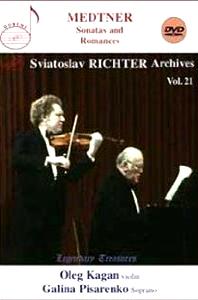 SONATAS AND ROMANCES/ SVIATOSLAV RICHTER, OLEG KAGAN [SVIATOSLAV RICHTER VOL.21]