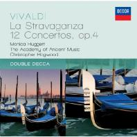 ANTONIO VIVALDI - LA STRAVAGANZA/ MONICA HUGGETT  CHRISTOPHER HOGWOOD [DOUBLE DECCA]