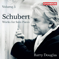 WORKS FOR SOLO PIANO VOL.5/ BARRY DOUGLAS  [슈베르트: 피아노 솔로 작품 5집 - 배리 더글라스]