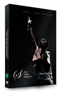 THE YEAR`S JOURNEY: 2012-2013 CONCERT [2DVD+포토북] 미개봉