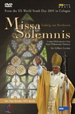 MISSA SOLEMNIS/ GILBERT LEVINE [베토벤 장엄미사: 2005 세계청년대회 기념 콘서트]