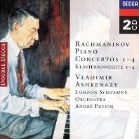 SERGEI RACHMANINOV - PIANO CONCERTOS 1-4/ VLADIMIR ASHKENAZY  ANDRE PREVIN [라흐마니노프: 피아노 협주곡 - 아쉬케나지 & 프레빈]