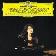 PIANO CONCERTO NO.1 & 3/ MARTHA ARGERICH, CHARLES DUTOIT, CLAUDIO ABBADO [차이코프스키: 피아노 협주곡 1번 & 프로코피에프: 피아노 협주곡 3번 - 아르헤리치]