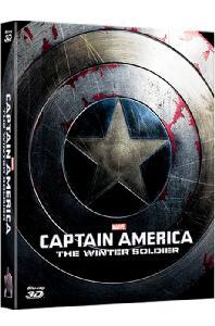 캡틴 아메리카: 윈터솔져 3D+2D [풀슬립 A1 스틸북 한정판] [CAPTAIN AMERICA: THE WINTER SOLDIER]